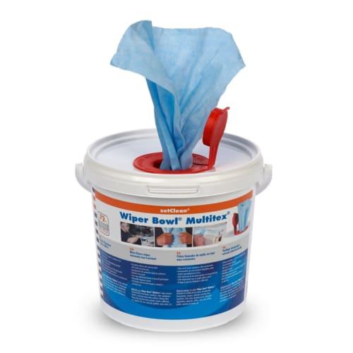 Wiper Bowl® Multitex® Spezial-Feuchtreinigungstücher