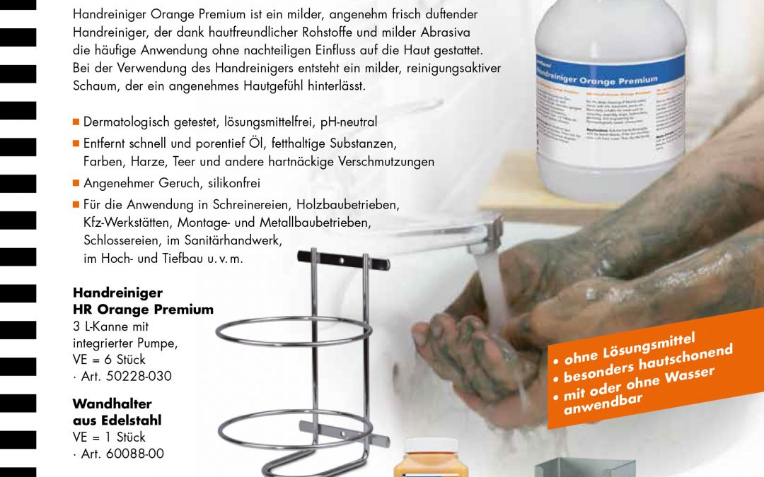 Handreiniger Orange – starker Handreiniger mit Duft
