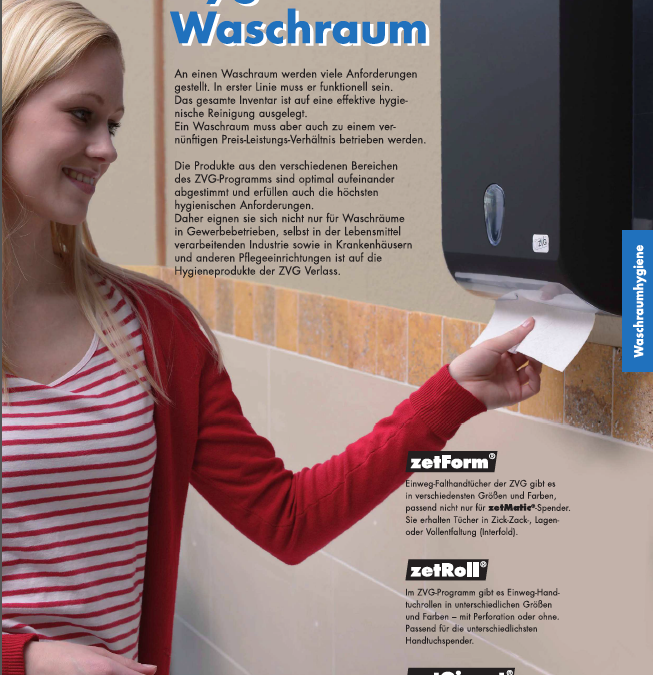 Katalogauszug Waschraumhygiene