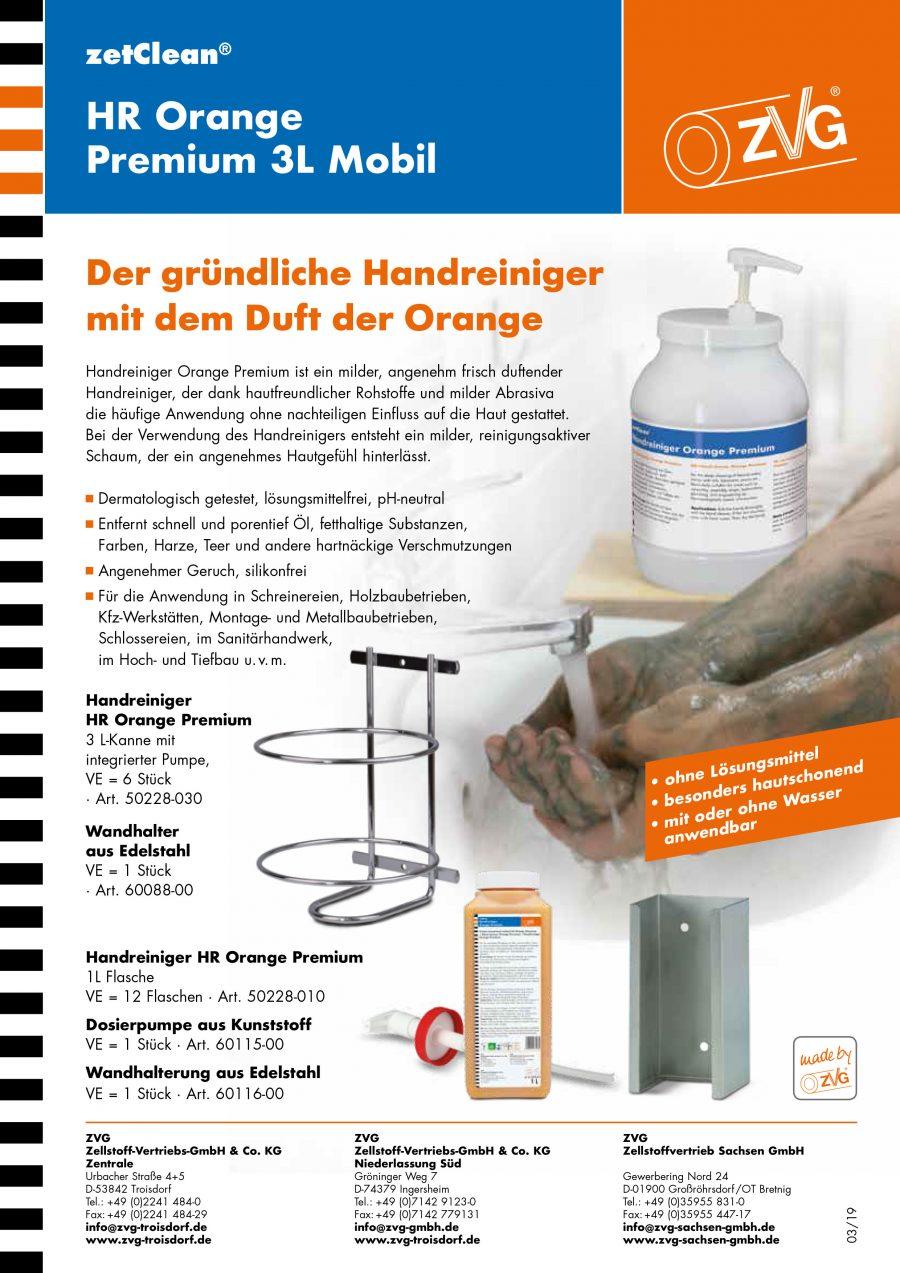 Handreiniger Orange - starker Handreiniger mit Duft