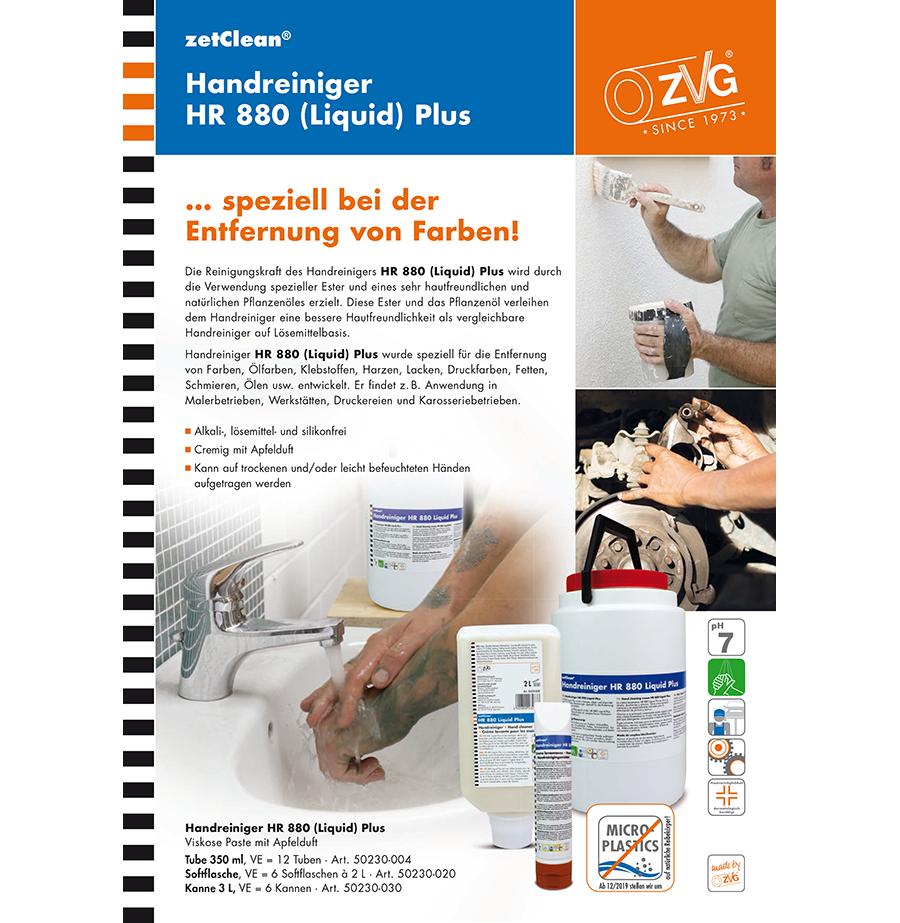 Handreiniger HR 880 (Liquid) Plus
