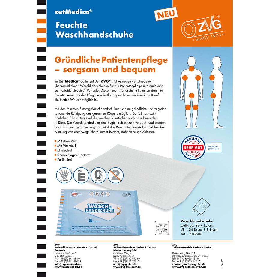 zetMedica® feuchte Waschhandschuhe
