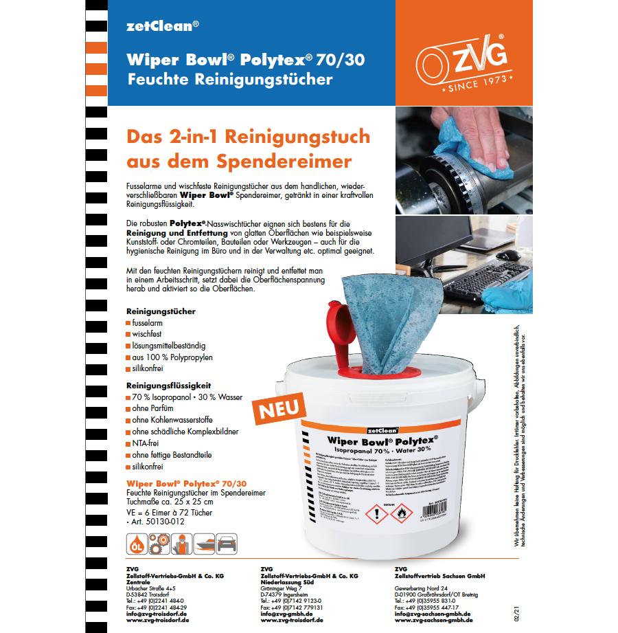 Flyer Wiper Bowl® Polytex® 70/30